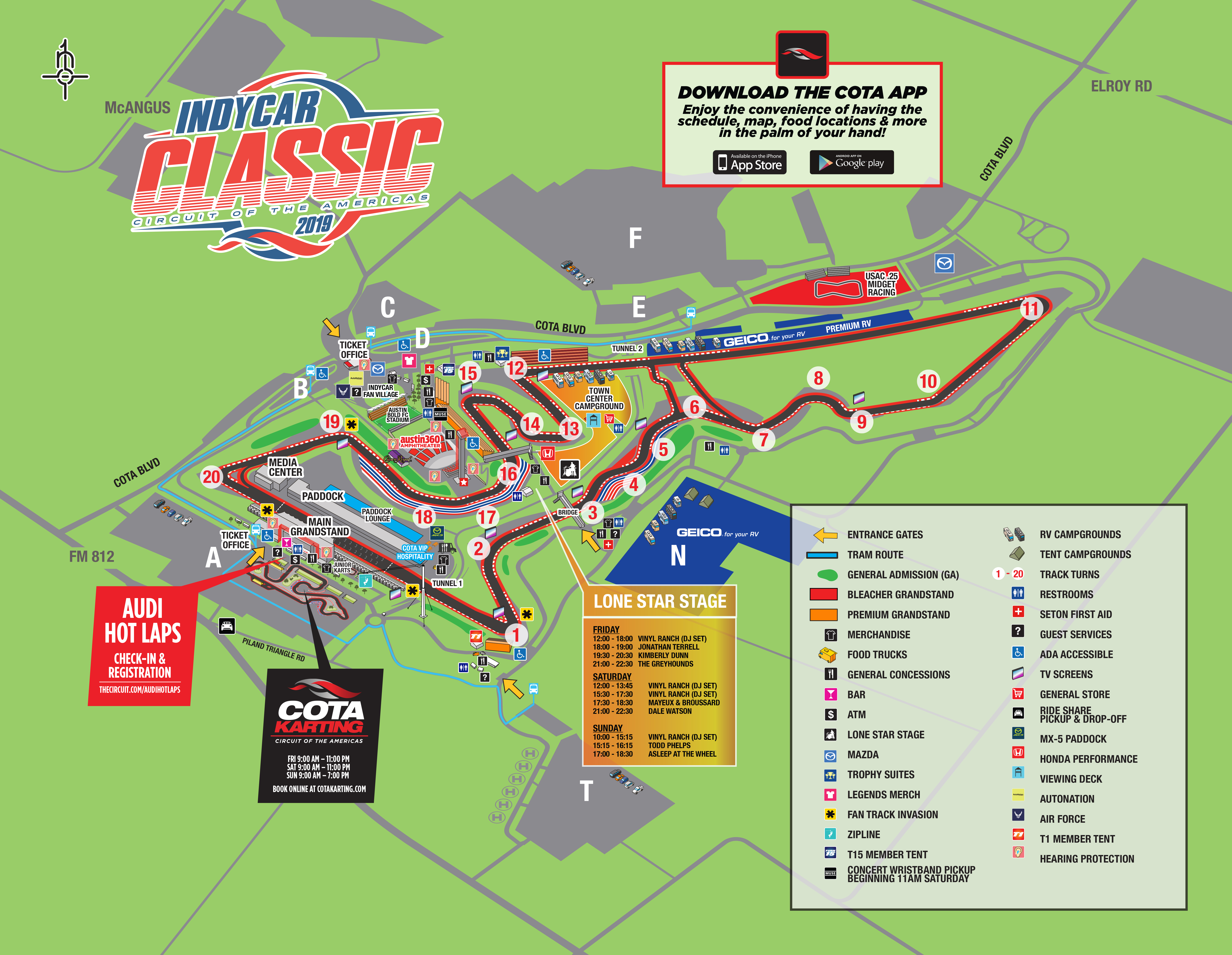 Map 0f Texas.Maps Circuit Of The Americas