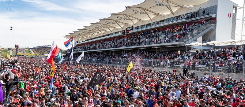 2019 Formula 1 USGP Tickets | Circuit of The Americas